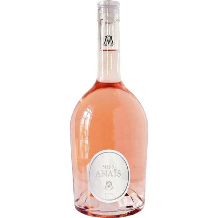 JEAN D'ALIBERT Miss Anais Gris - Vin rosé de Languedoc-Roussillon