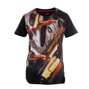 WTF T-shirt Homme Street Rules - Noir