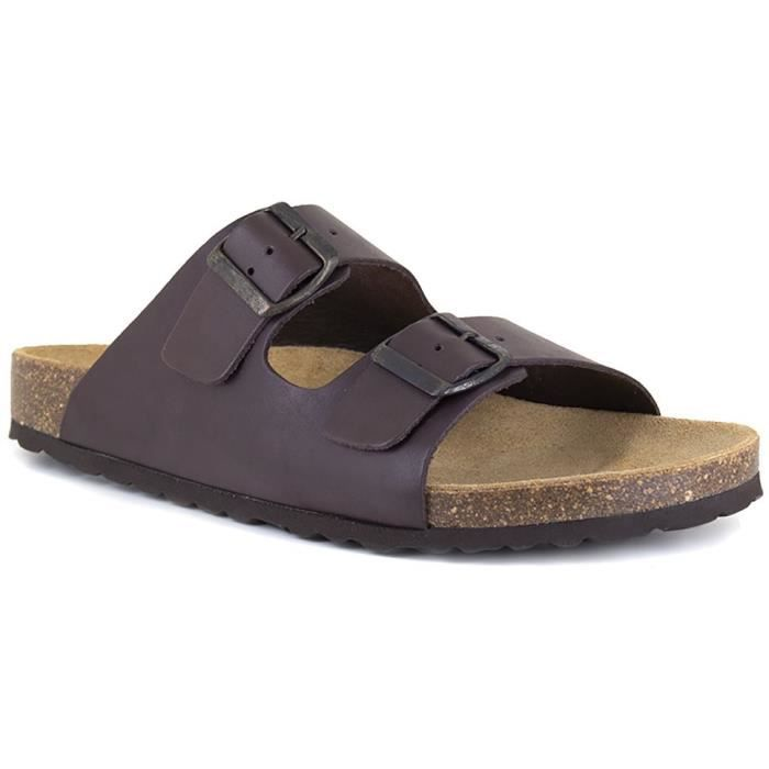 J.BRADFORD Chaussures Sandales JB-Malaga Marron Homme