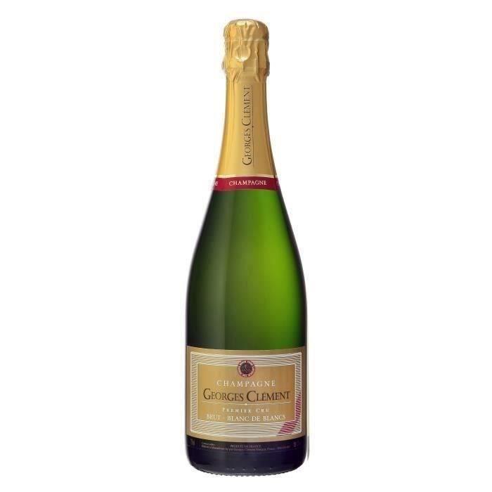 Champagne Georges Clément Blanc de blancs Brut - 75 cl