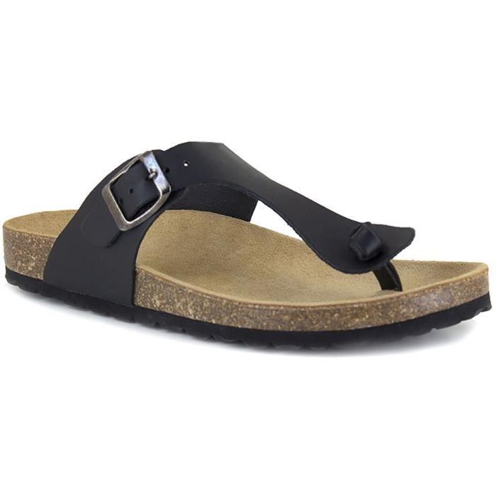 J.BRADFORD Chaussures Sandales JB-Abadia Noir Femme