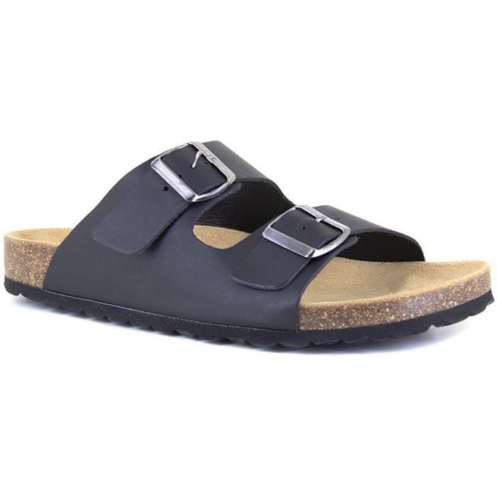J.BRADFORD Chaussures Sandales JB-Malaga Noir Homme