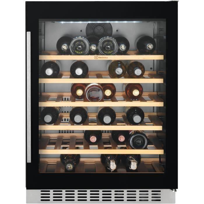 ELECTROLUX ERW1573AOA -Cave à vin de service-52 bouteilles-Encastrable-Froid brassé-A-L 60 x H 82,2 cm