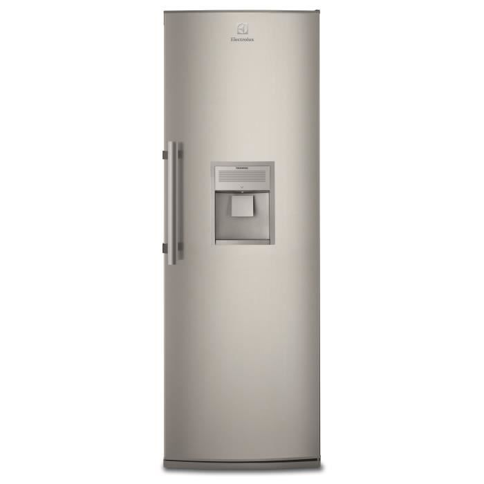 Réfrigérateur 1 porte inox