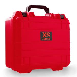 Xsories - Huge Black Box Custom - mallette GoPro anti choc et étanche IP67 - 18Litres RED - CUSTOM