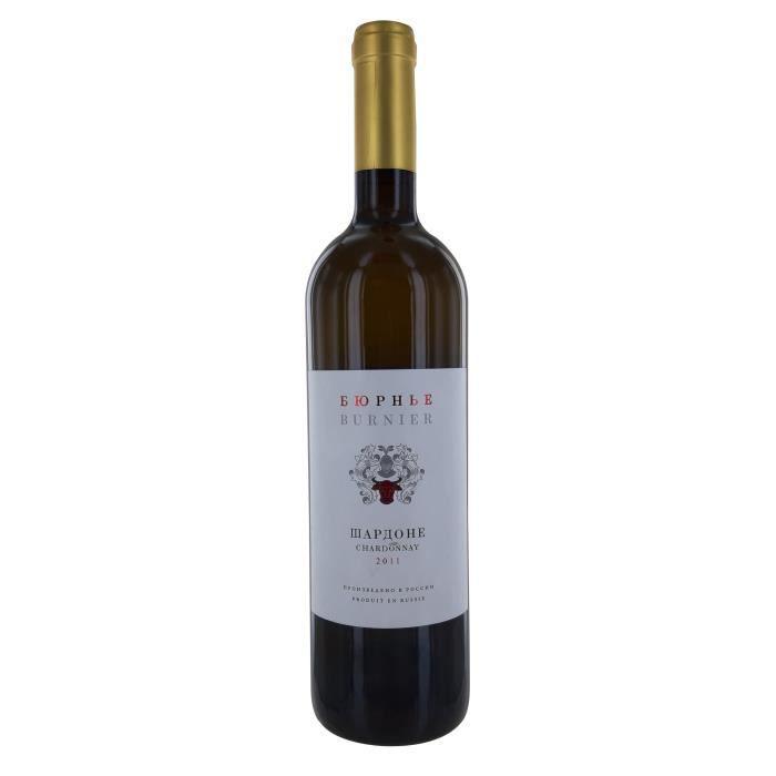 Burnier 2011 Chardonnay - Vin Blanc de Russie
