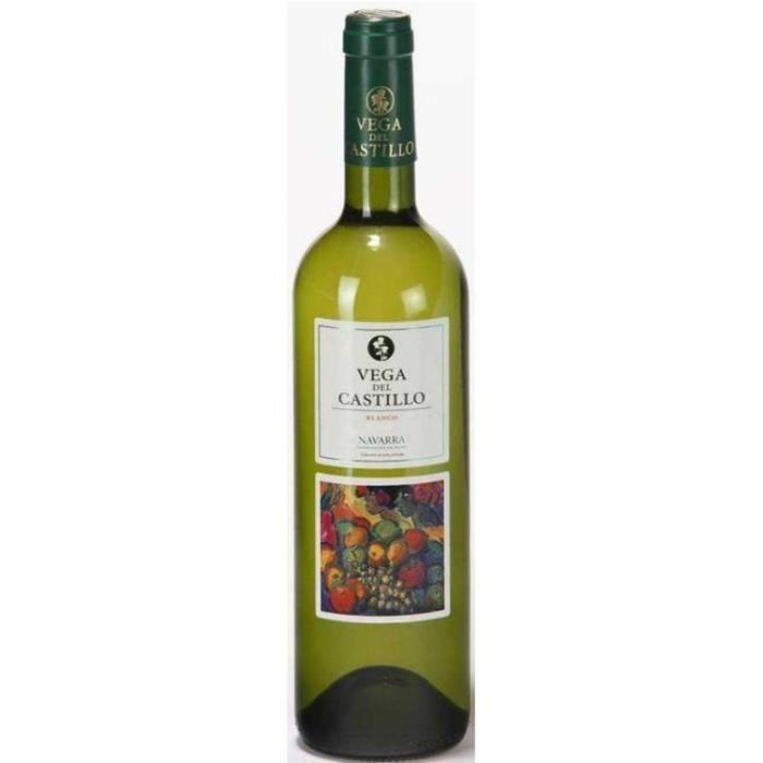VEGA DEL CASTILLO Viura Chardonnay Navarra Vin d'Espagne - Blanc - DO