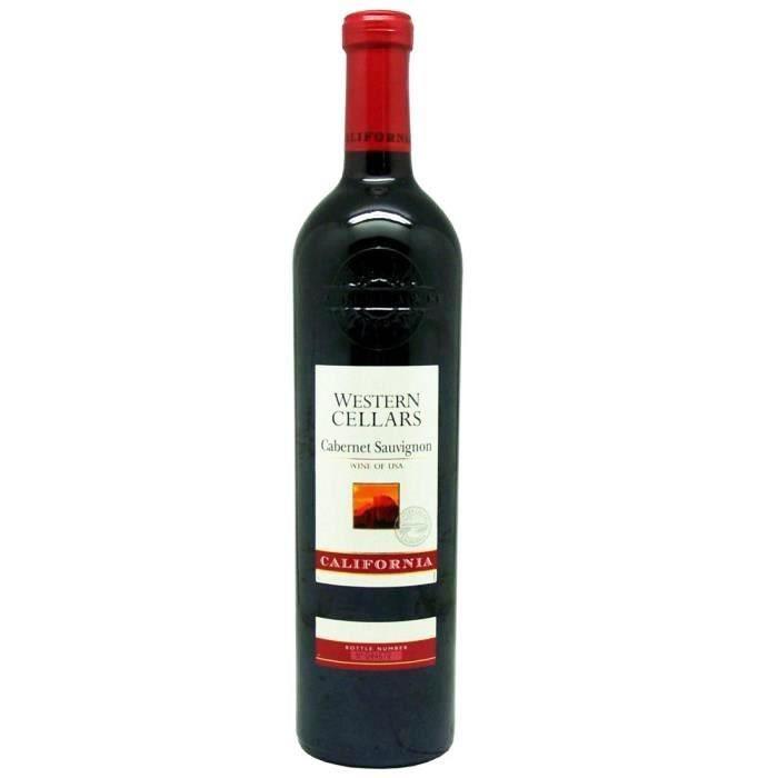 Western Cellars Cabernet Sauvignon - Vin rouge de Californie