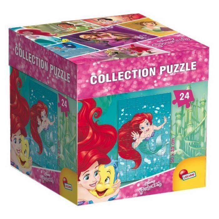 DISNEY PRINCESSES - puzzle Ariel - 24 pièces