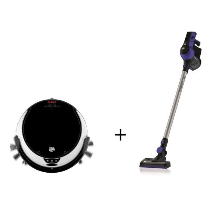 aspirateur robot dirt devil 2