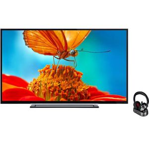 Pack TOSHIBA 55L3763DG TV LED 140 cm + PHILIPS SHC8535/10 Casque TV