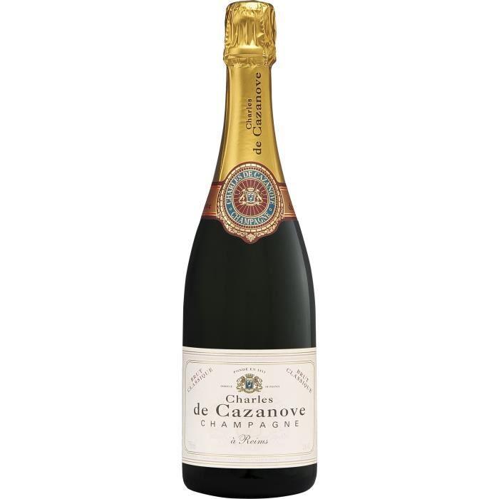Champagne Charles de Cazanove Classique Brut - 75 cl