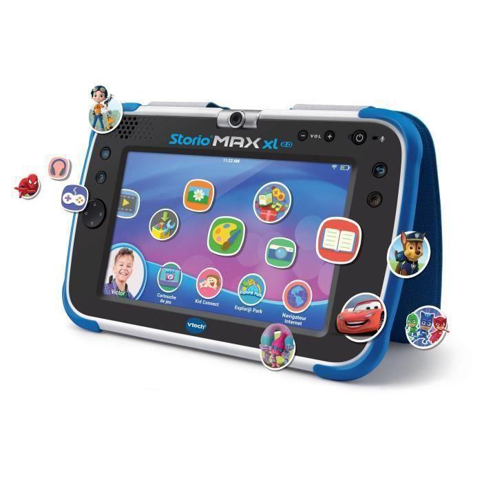 VTECH - Console Storio Max XL 2.0 7- Bleue - Tablette Éducative Enfant 7 Pouces