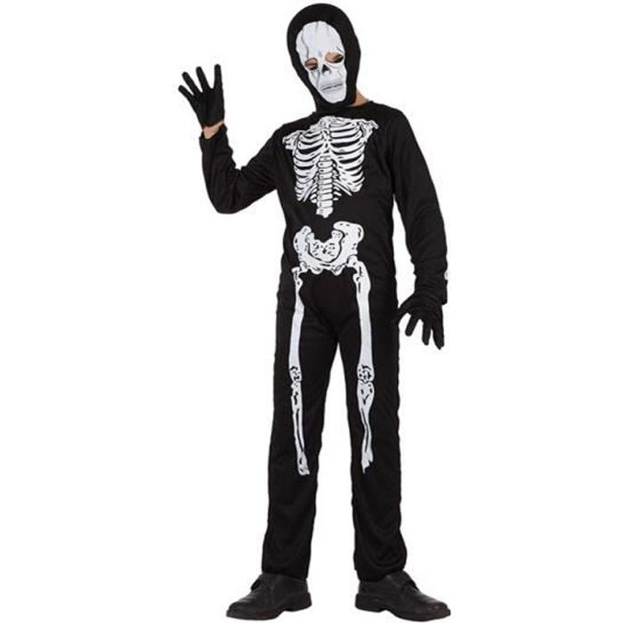 ATOSA Déguisement squelette Garçon