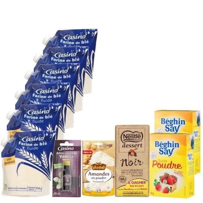 Kit pour préparation de gâteaux - 11 produits
