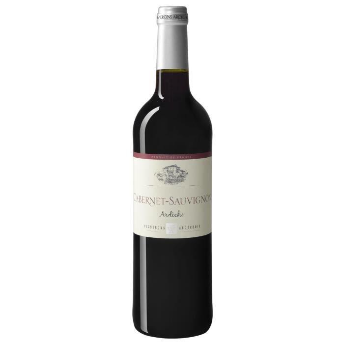 Vignerons Ardéchois 2018 Côteaux de l'Ardèche - Vin rouge de la Vallée du Rhône