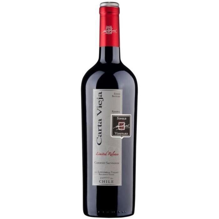 Carta Vieja Reserva Cabernet Sauvignon - Vin rouge du Chili