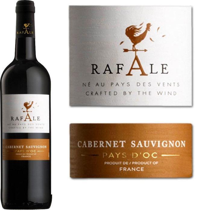 Rafale Cabernet Sauvignon - Vin rouge du Languedoc Roussillon