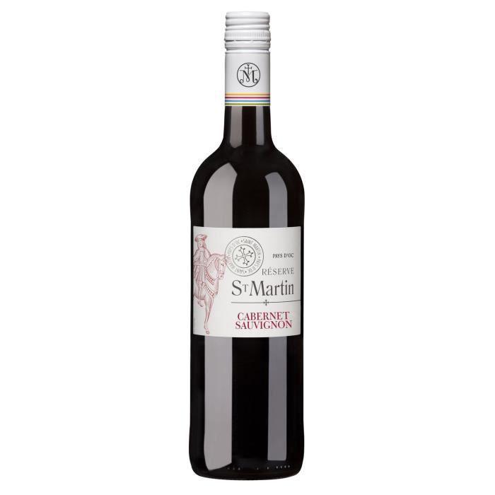 Réserve Saint-Martin 2019 Cabernet Sauvignon IGP Pays d'Oc - Vin rouge de Languedoc