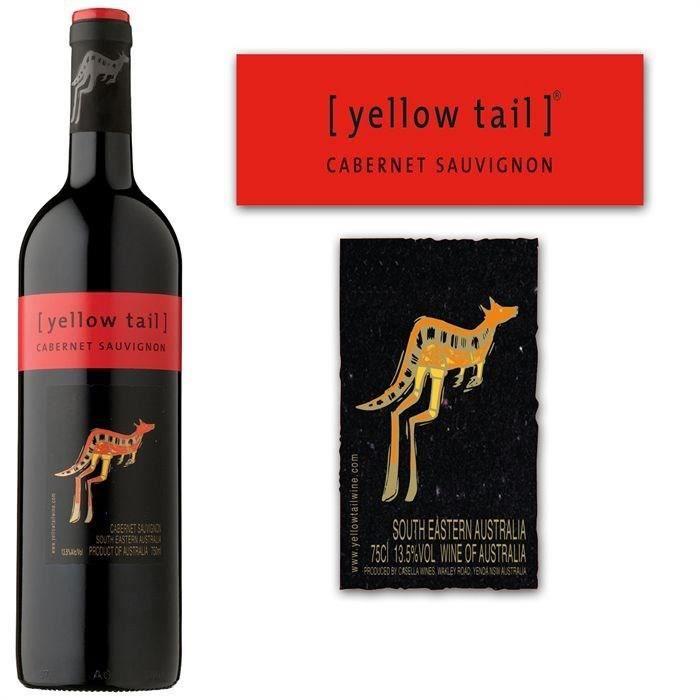 Yellow Tail Cabernet Sauvignon - Vin rouge d'Australie