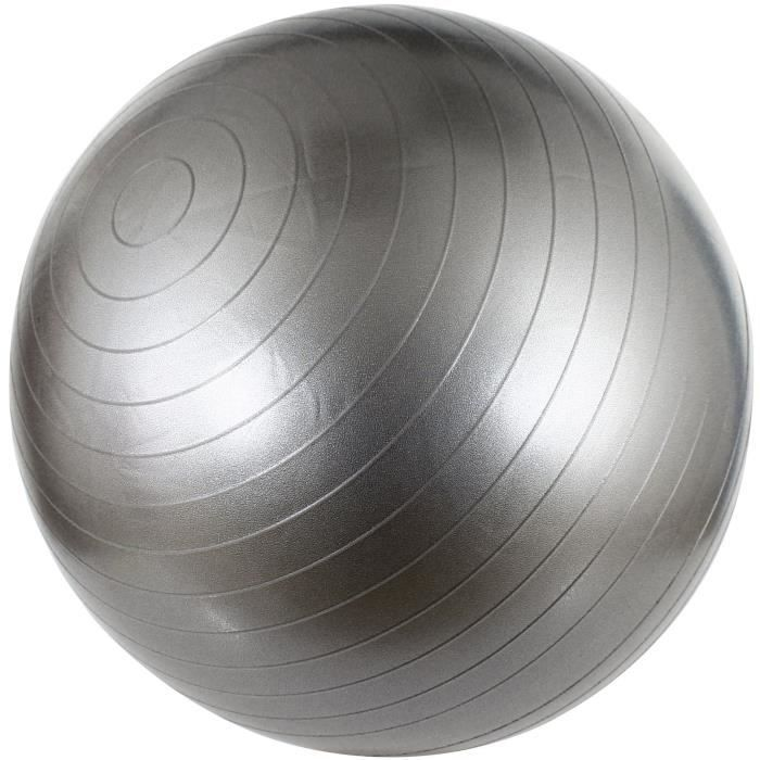 AVENTO Swiss ball M - 65 cm - Gris