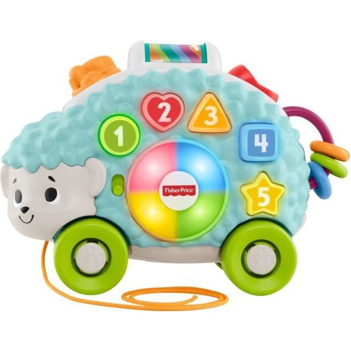 FISHER-PRICE Linkimals Louison le Hérisson - 9 mois et +