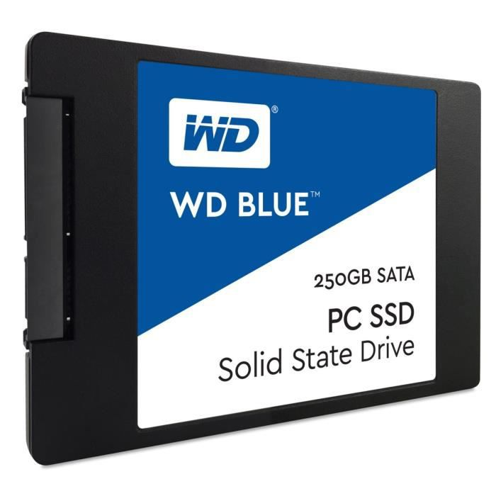 "WD Blue™ 250 Go 2,5""/7 mm WDS250G1B0A"
