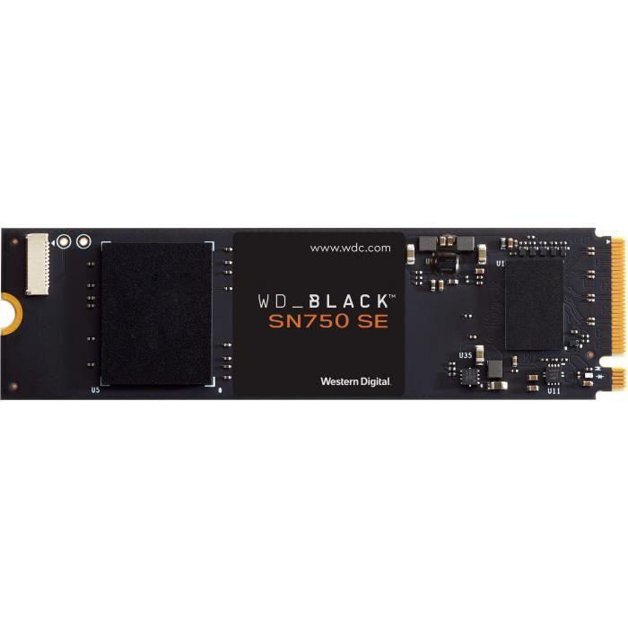 WD Black™- Disque SSD Interne - SN750 SE - 1To - M.2 NVMe (WDS100T1B0E-00B3V0)