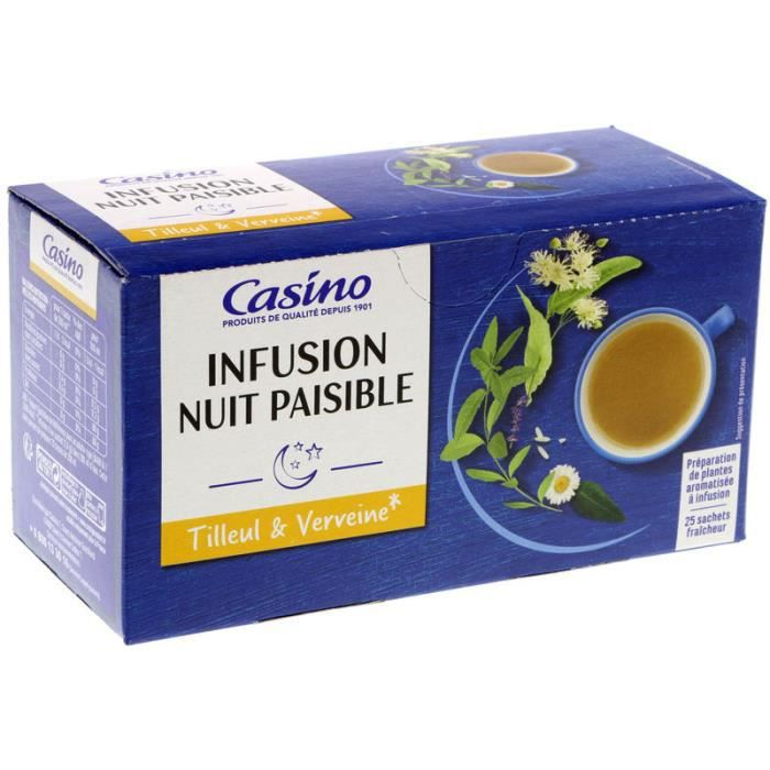 INFUSION NUIT PAISIBLE 40G 25S CO