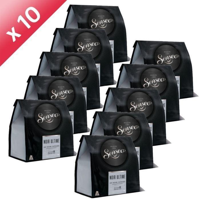 SENSEO Noir Ultime 24 Dosettes 190g (x10)