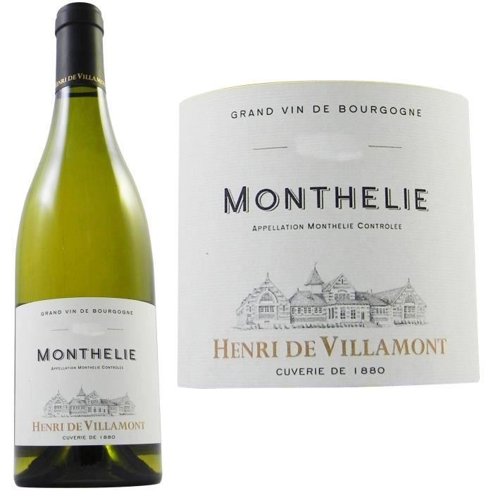 Henri de Villamont 2011 Monthélie - Vin blanc de Bourgogne
