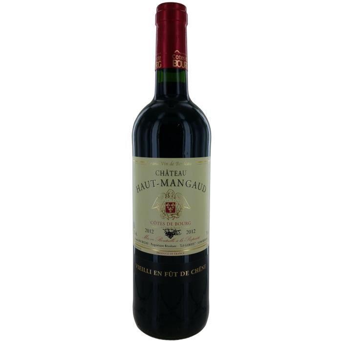 Château Haut-Mangaud 2012 Côtes de Bourg - Vin rouge de Bordeaux