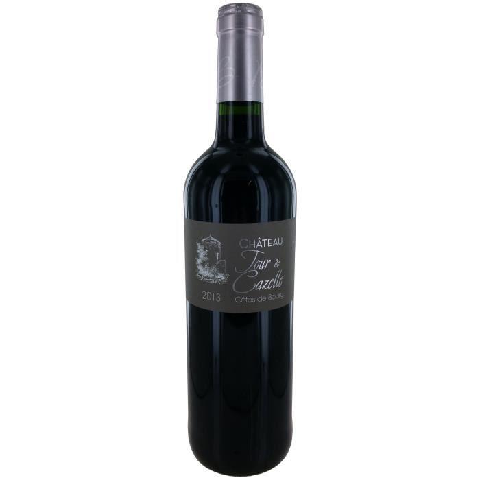 Château Tour de Cazelle 2015 Côtes de Bourg - Vin rouge de Bordeaux