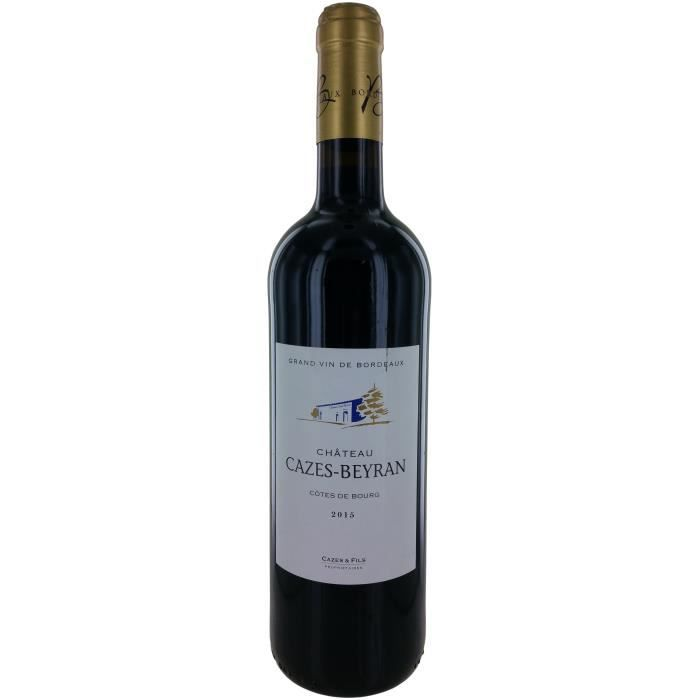 Château Cazes-Beyran 2014 Côtes de Bourg - Vin rouge de Bordeaux