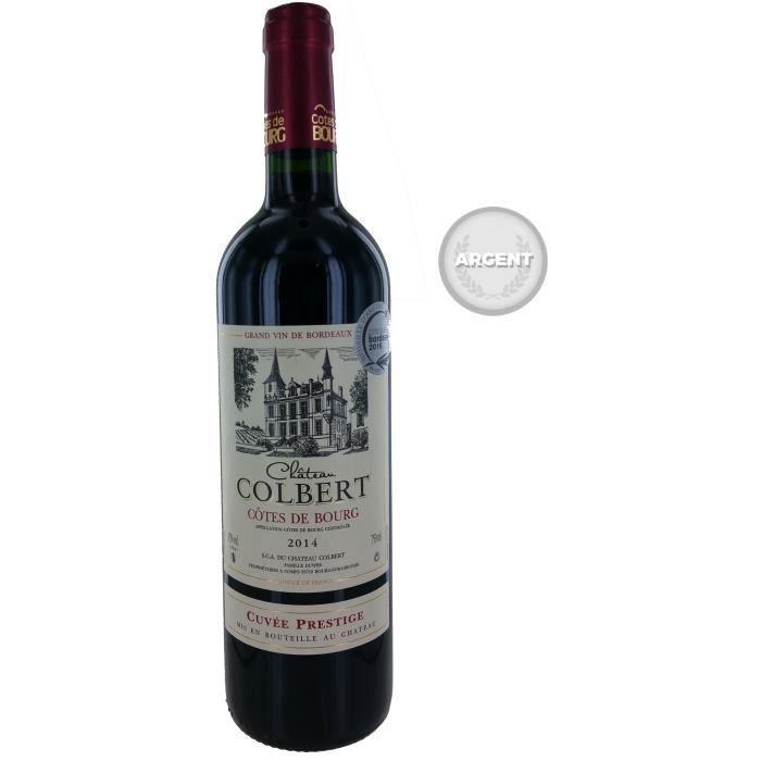 Château Colbert 2014 Côtes de Bourg - Vin rouge de Bordeaux