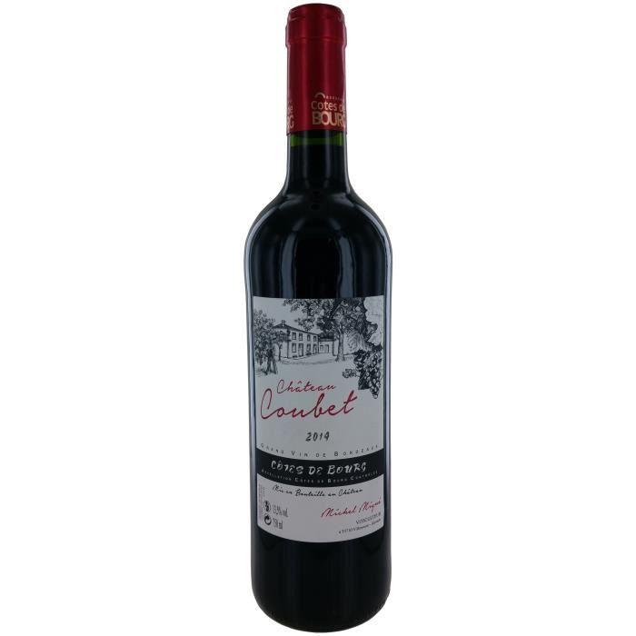 Château Coubet 2014 Côtes de Bourg - Vin rouge de Bordeaux