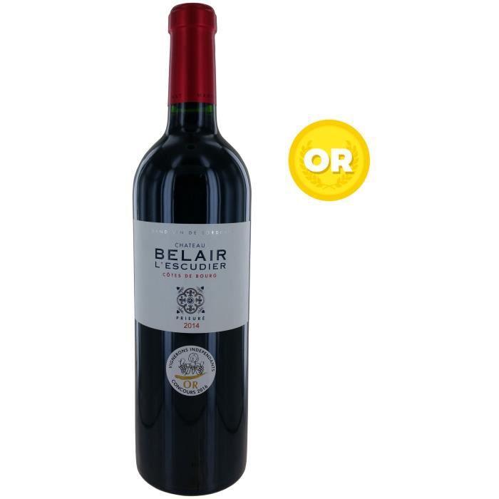 Château Belair L'Escudier 2014 Côtes de Bourg - Vin rouge de Bordeaux
