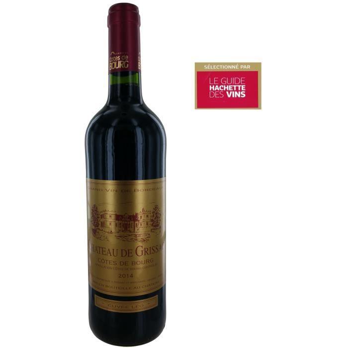Château de Grissac 2014 Côtes de Bourg - Vin rouge de Bordeaux