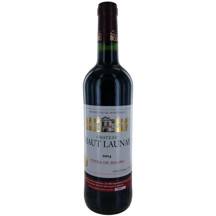 Château Haut Launay 2014 Côtes de Bourg - Vin rouge de Bordeaux