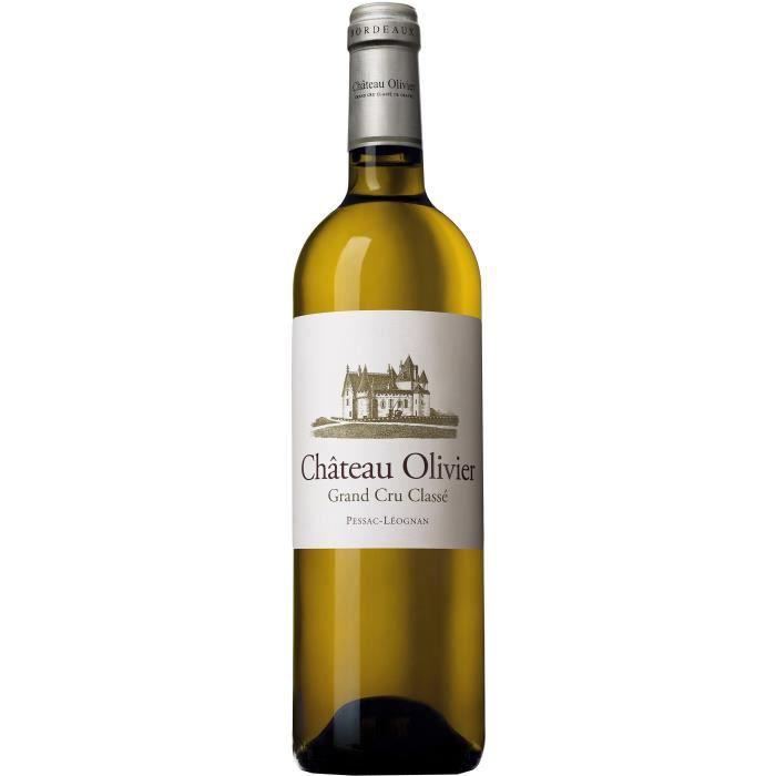 Château Olivier Grand Vin de Bordeaux Pessac Léognan 2017 - Vin blanc