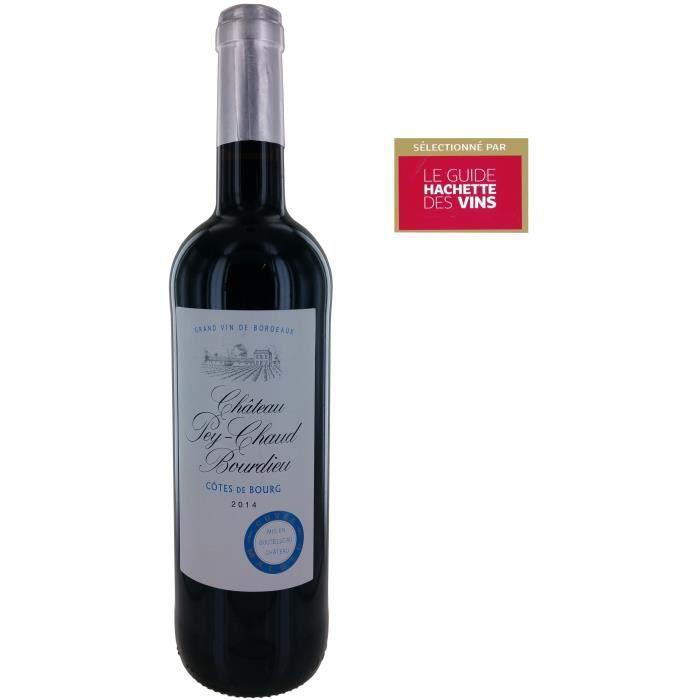 Château Pey-Chaud Bourdieu 2014 Côtes de Bourg - Vin rouge de Bordeaux