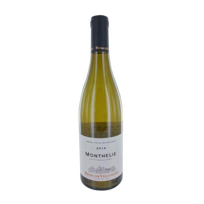 Henri de Villamont 2014 Monthélie - Vin blanc de Bourgogne