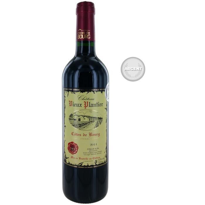 Château Vieux Plantier 2014 Côtes de Bourg - Vin rouge de Bordeaux