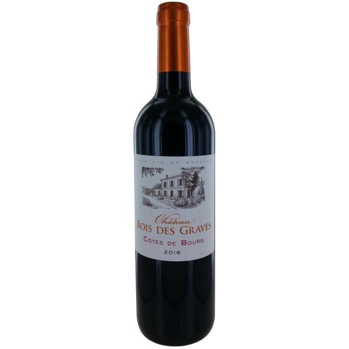 Château Bois des Graves 2016 Côtes de Bourg - Vin rouge de Bordeaux