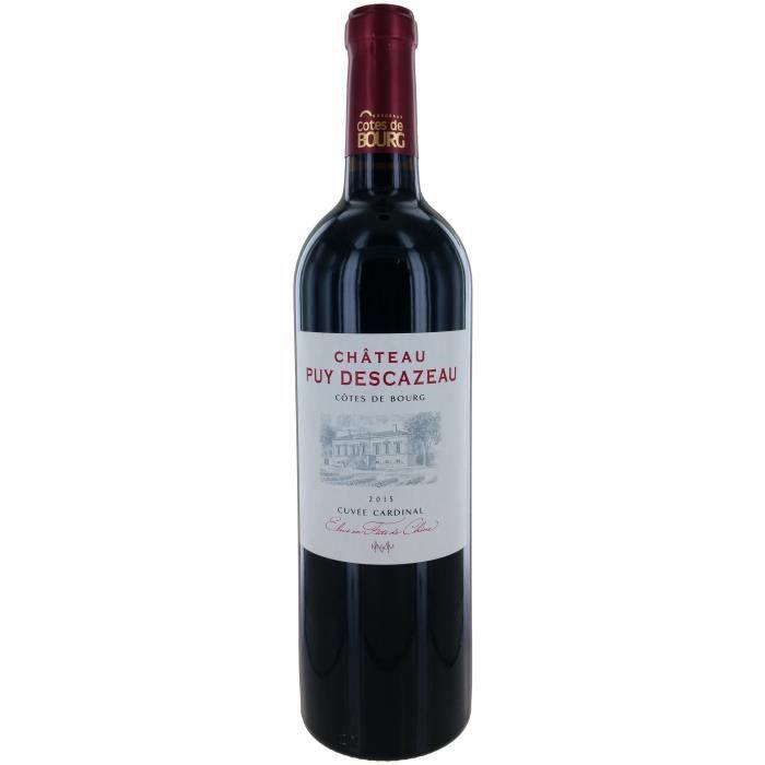 Château Puy Descazeau 2015 Côtes de Bourg - Vin rouge de Bordeaux