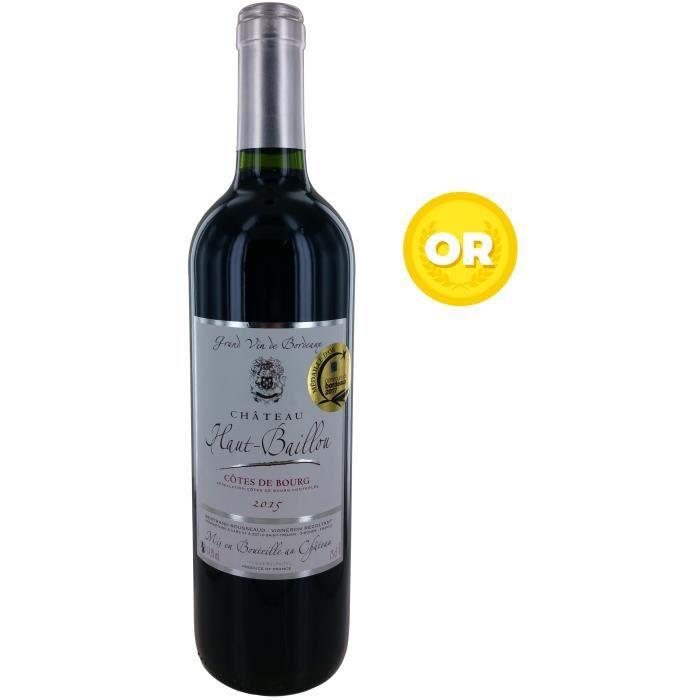 Château Haut-Baillou 2015 Côtes de Bourg - Vin rouge de Bordeaux