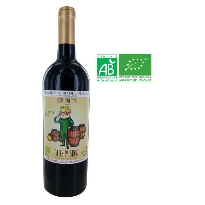 Pierre Henry Cosyns Château Grand Launay 2015 Côtes de Bourg Vin rouge
