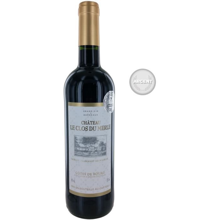 Château Clos du Merle 2015 Côtes de Bourg - Vin rouge de Bordeaux