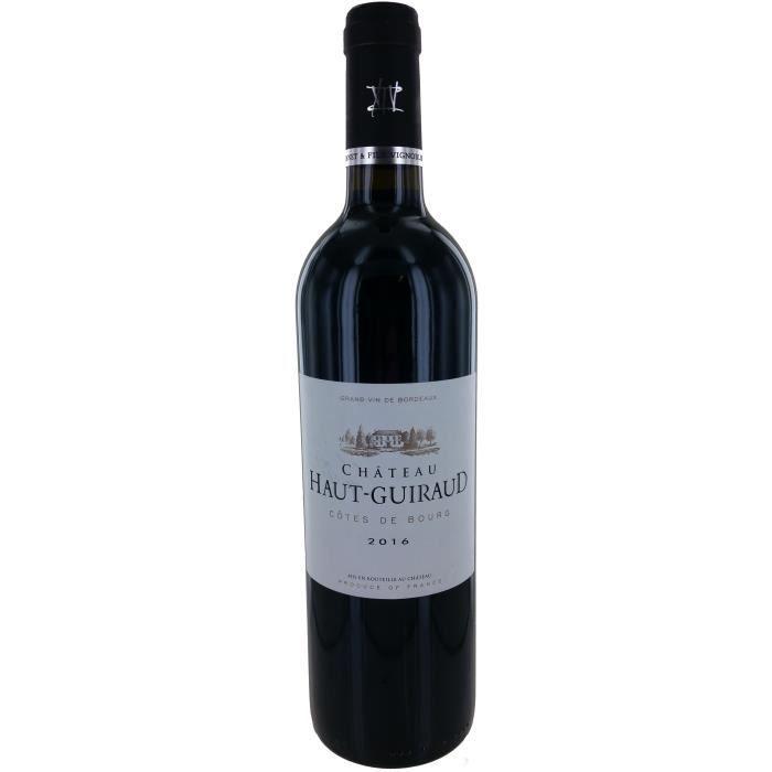 Château Haut-Guiraud 2016 Côtes de Bourg - Vin rouge de Bordeaux