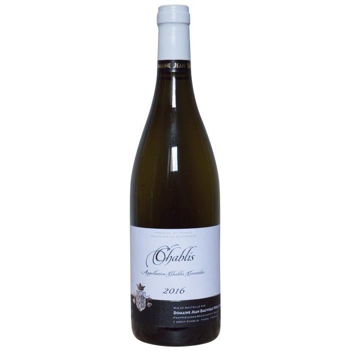 Domaine Jean Dauvissat Père & Fils 2016 Chablis - Vin blanc de Bourgogne